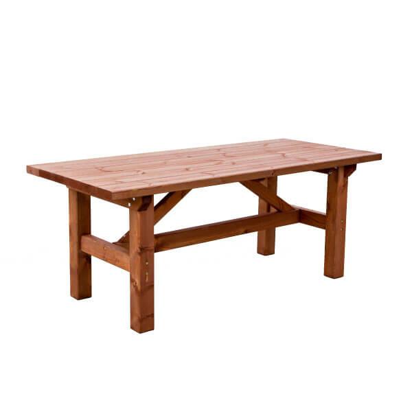 Mesa rustica de madera madera artesanal estrucmader - Mesa madera maciza rustica ...