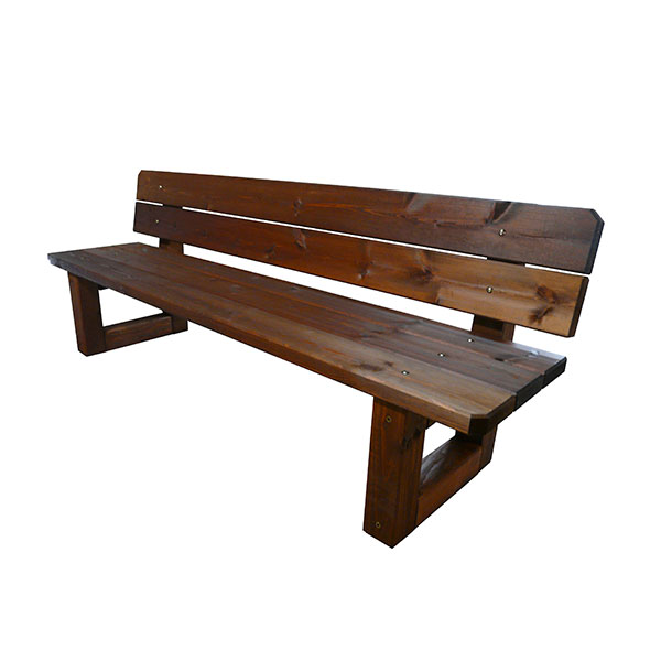 Banco madera jardin banco madera ideal para patio baos for Banco para jardin