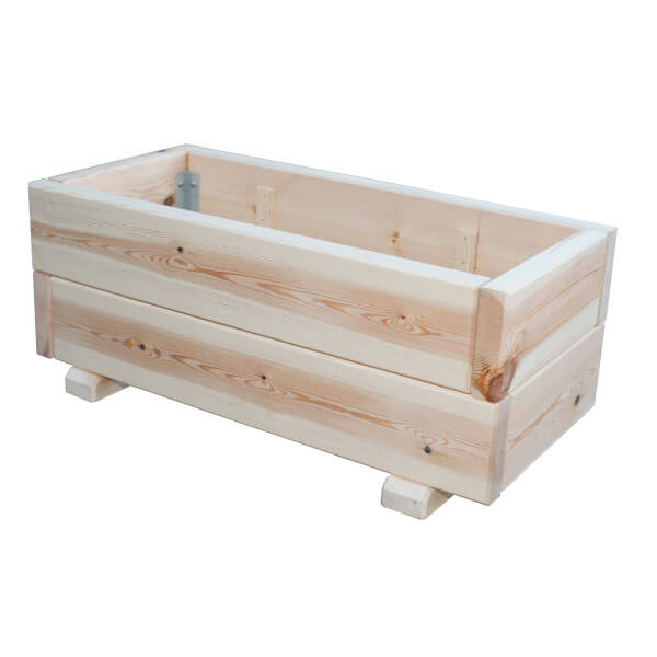 Macetero de madera Eco