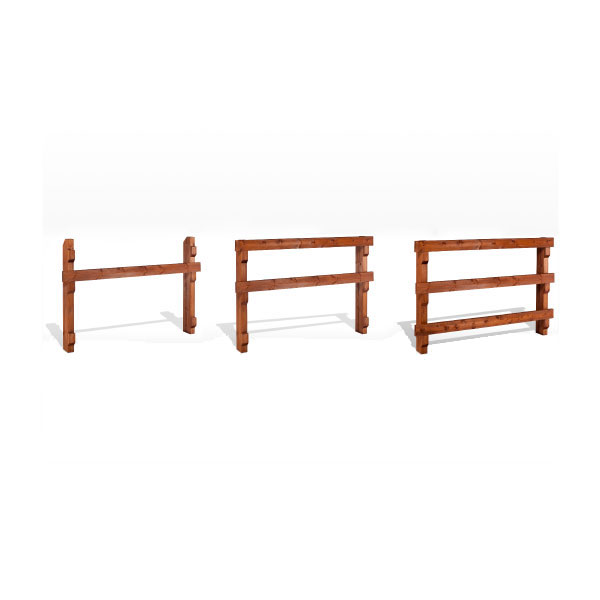 Cercado de secci n rectangular madera estrucmader - Cercado de madera ...