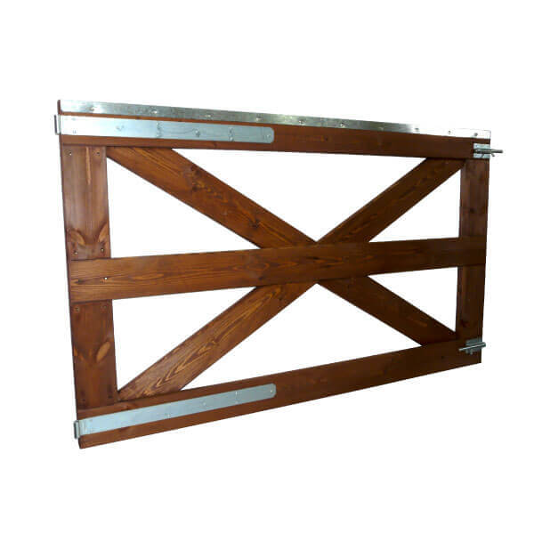 Puerta cercado de 1m altura 1 hoja estrucmader - Cercado de madera ...
