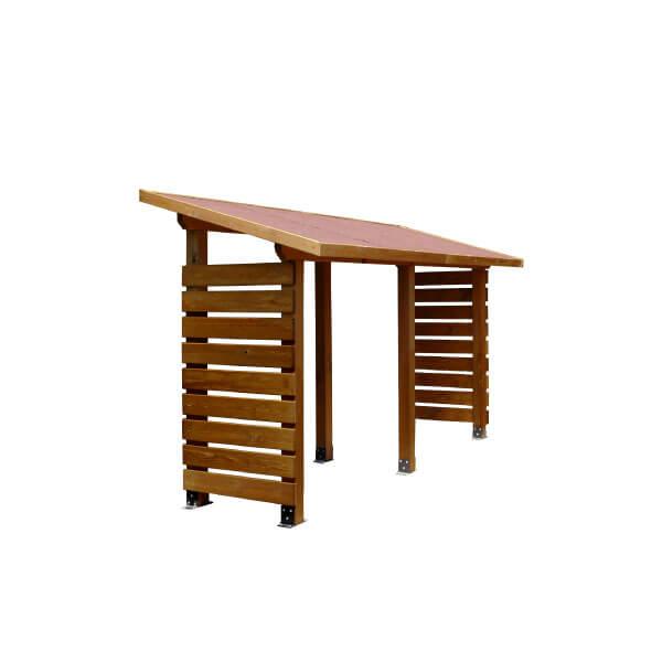 Estructura le ero de madera madera artesanal estrucmader - Leneros de madera ...