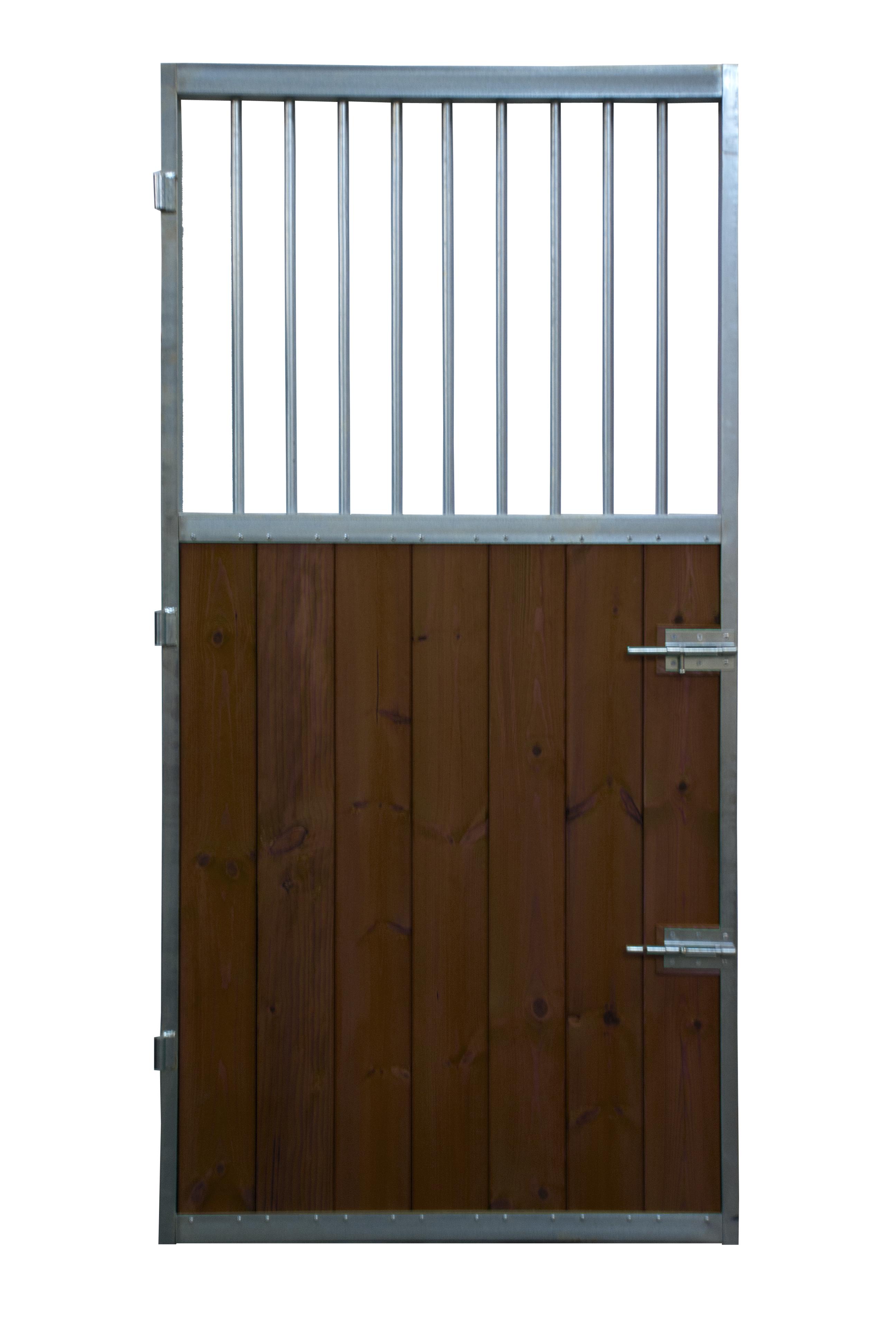 Puerta Box de Caballos Modelo Azteca