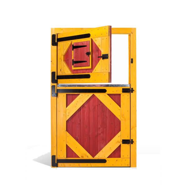 Puerta Box de Caballos Modelo Percherón