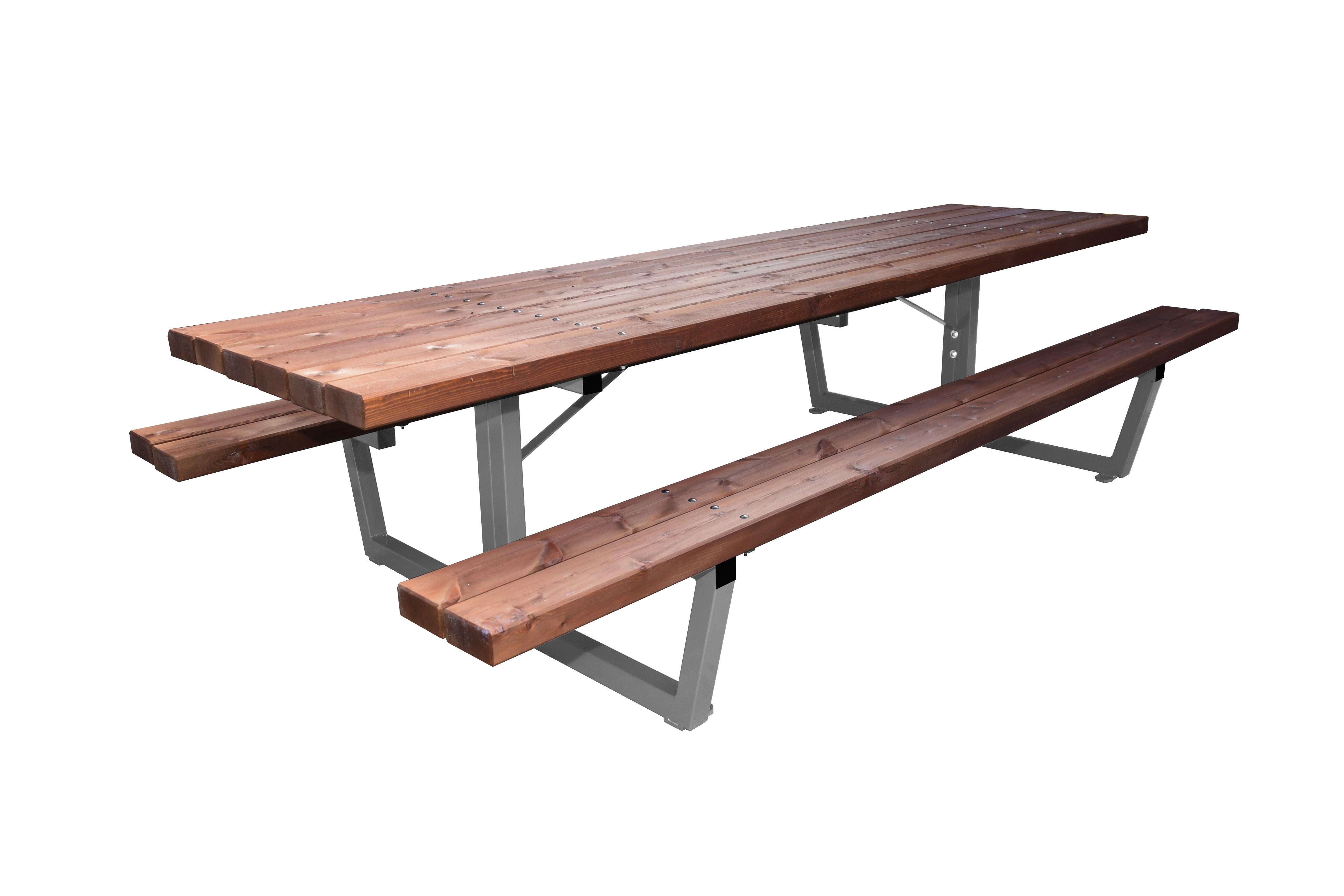 Mesas de exterior de madera mesa de quincho a disfrutar - Mesas de madera para exterior ...