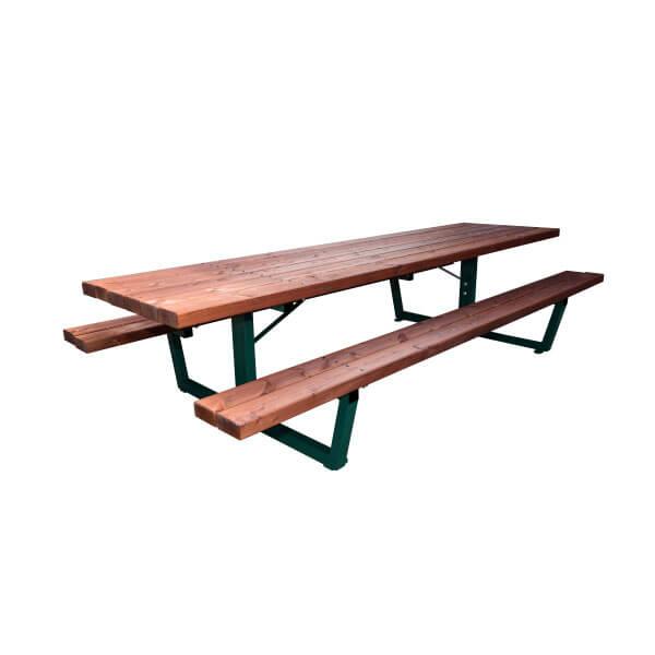 Maxi Mesa de Pícnic Madera/Acero