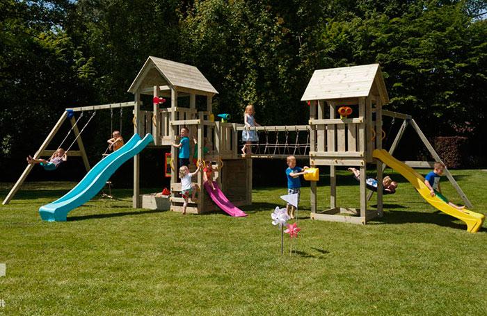 Parque infantil conjunto himalaya estrucmader for Parque infantil jardin