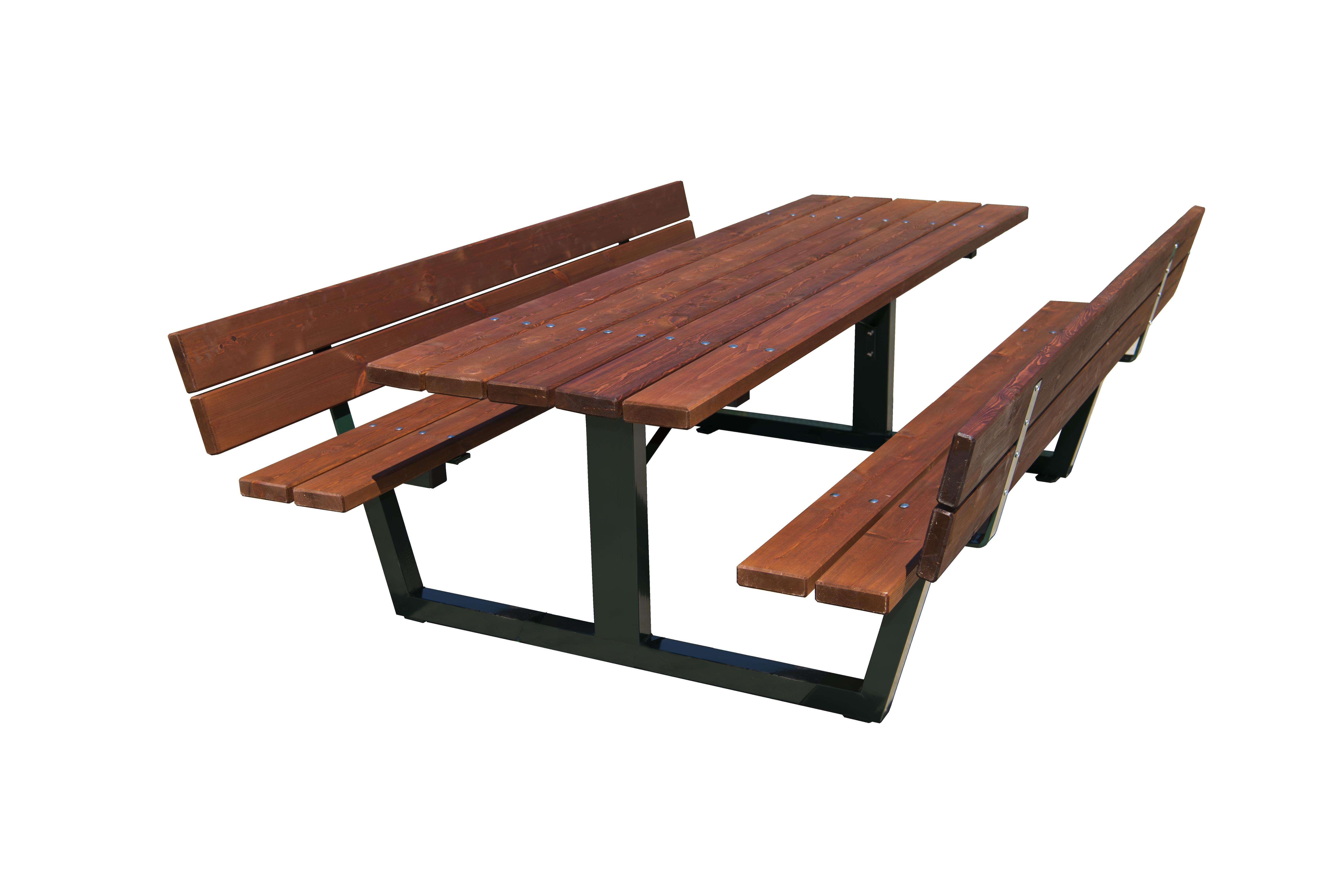 Mesas de madera exterior mesa baja de forja hecha de for Mesas de madera para exterior