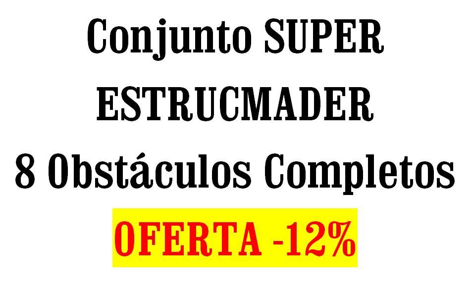 Conjunto Oferta saltos para equitación SUPER ESTRUCMADER