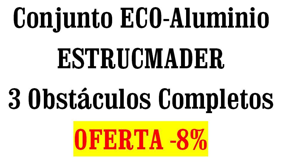 Conjunto Oferta saltos para equitación ECO-Aluminio