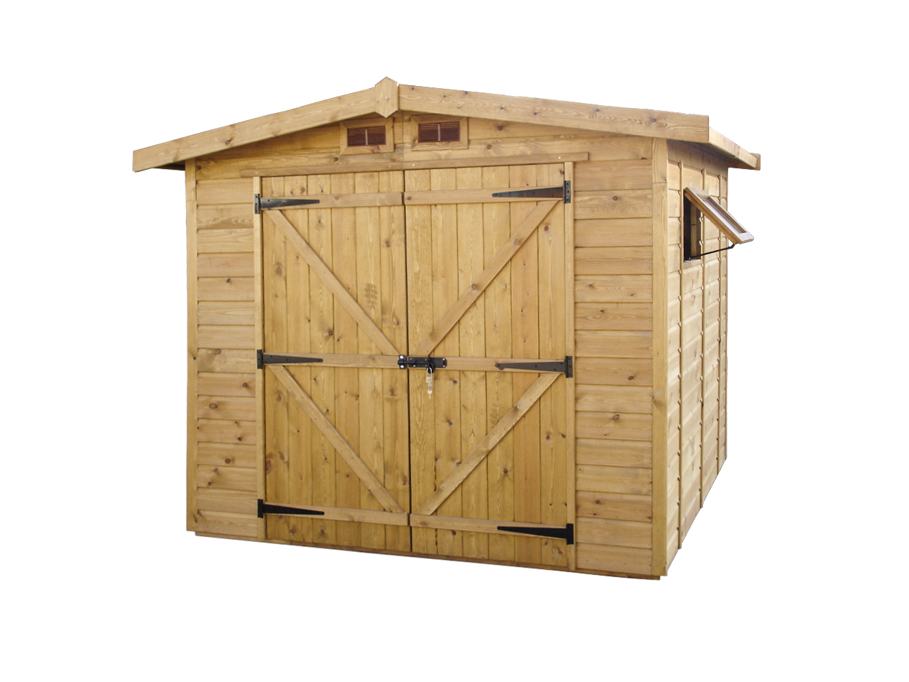 Caseta de madera Garaje Trastero mod. Edeta