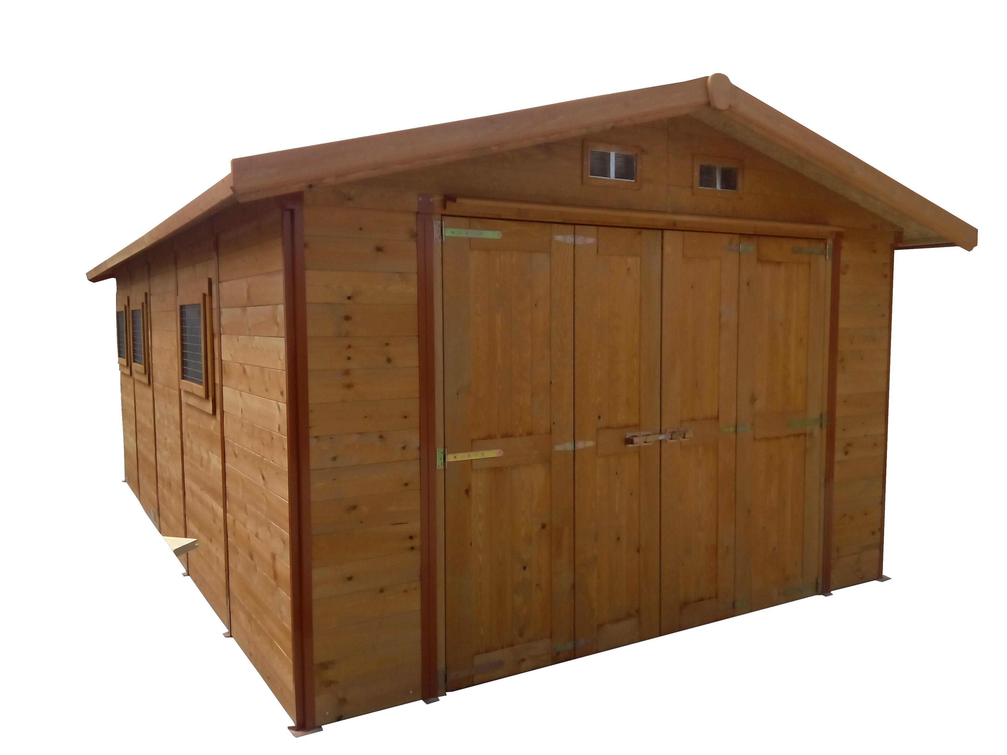 Garaje mixto metal-madera mod. Ebro