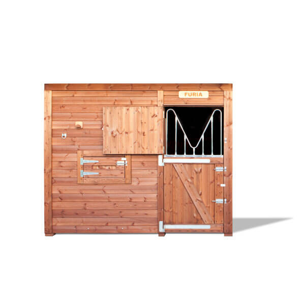 Frontal Cerrado modelo Troya- Box caballos Interior