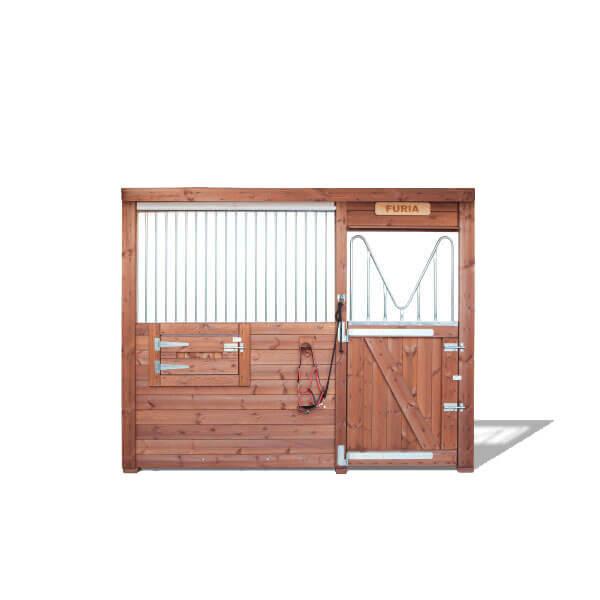 Frontal Abierto modelo Troya- Box caballos Interior