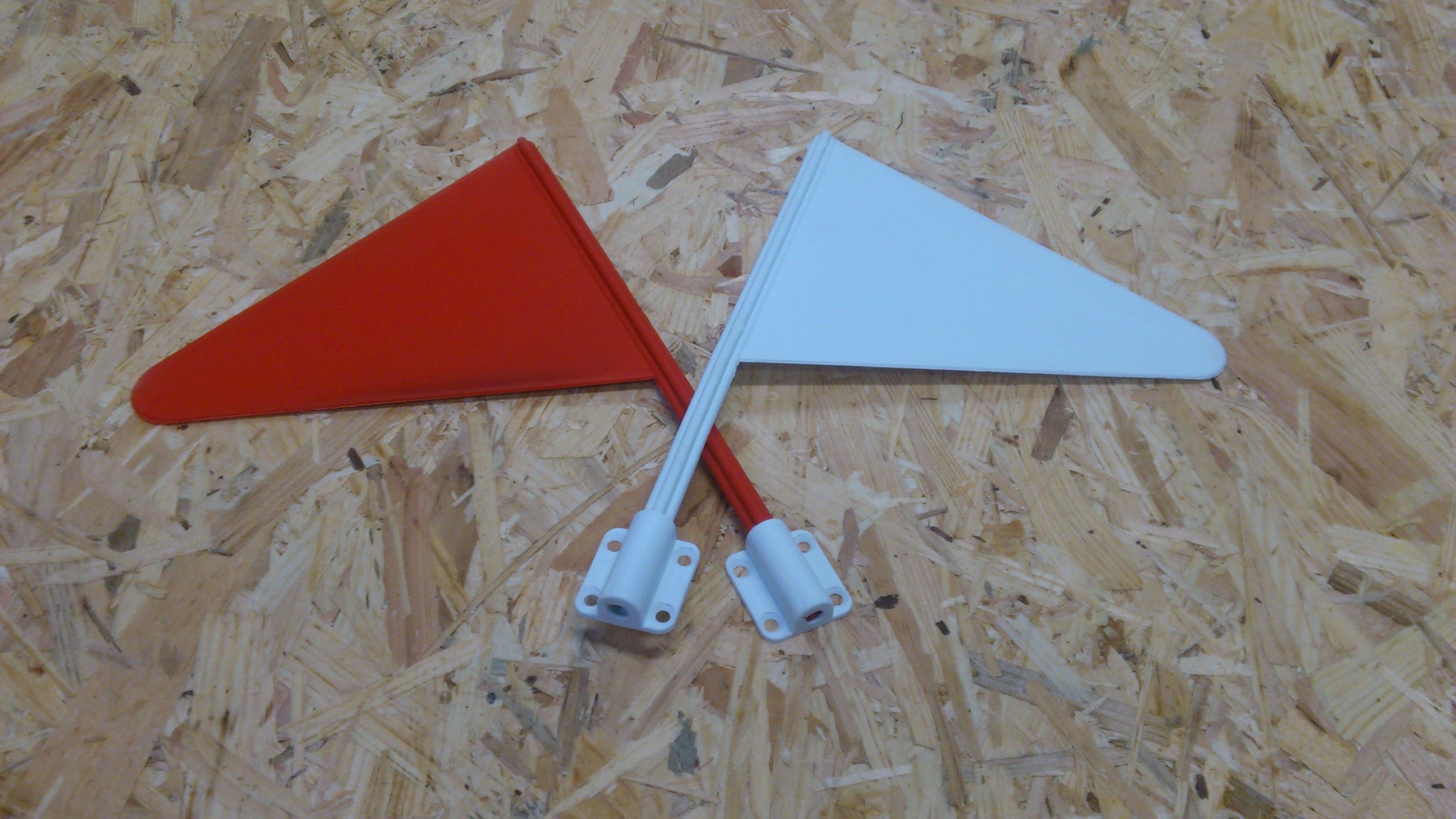 Banderas para reparos de salto  (set de 10 pares)
