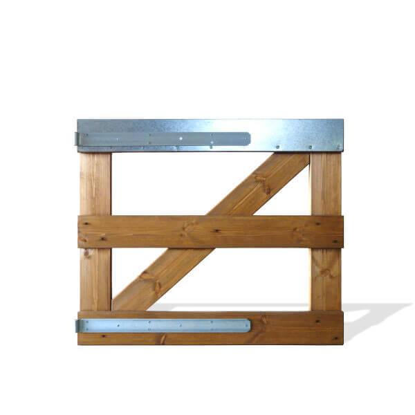 Puerta de Cercado de  1m de Altura – 1 Hoja – €/metro