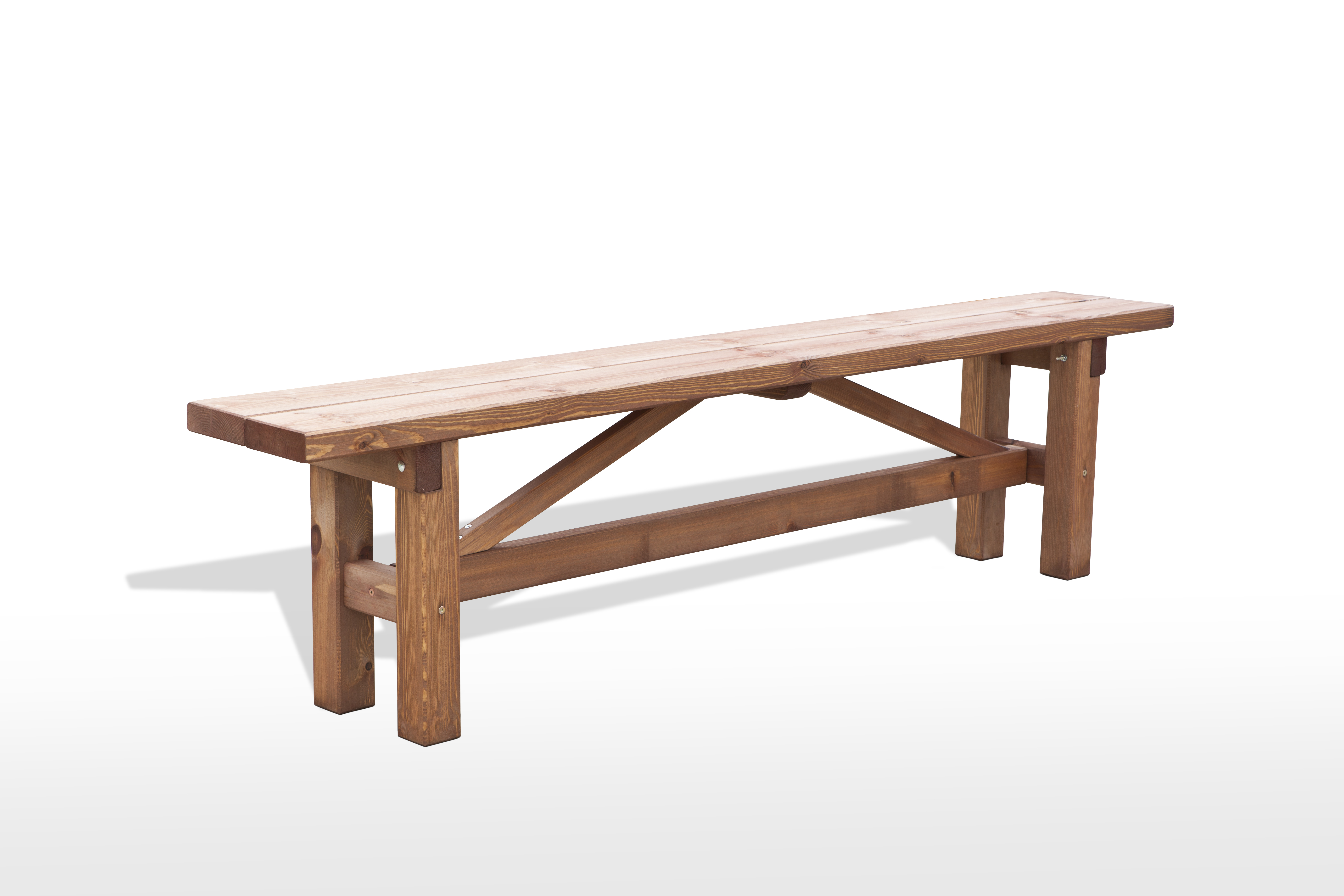 Banco de madera para jard n muebles de casa jard n terraza - Banco madera jardin ...