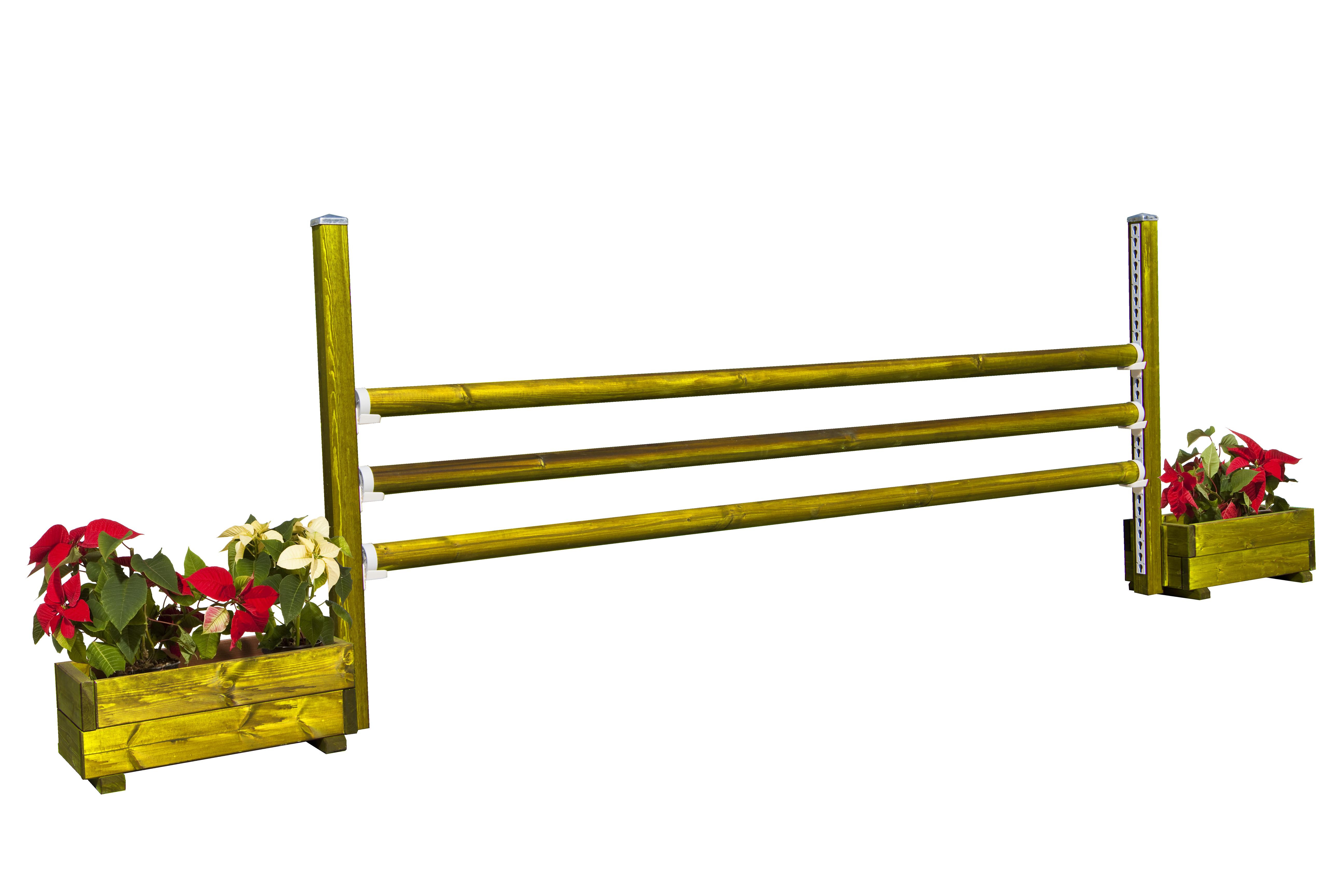 Obstaculo de salto de Hípica para Caballos Modelo Jardinera