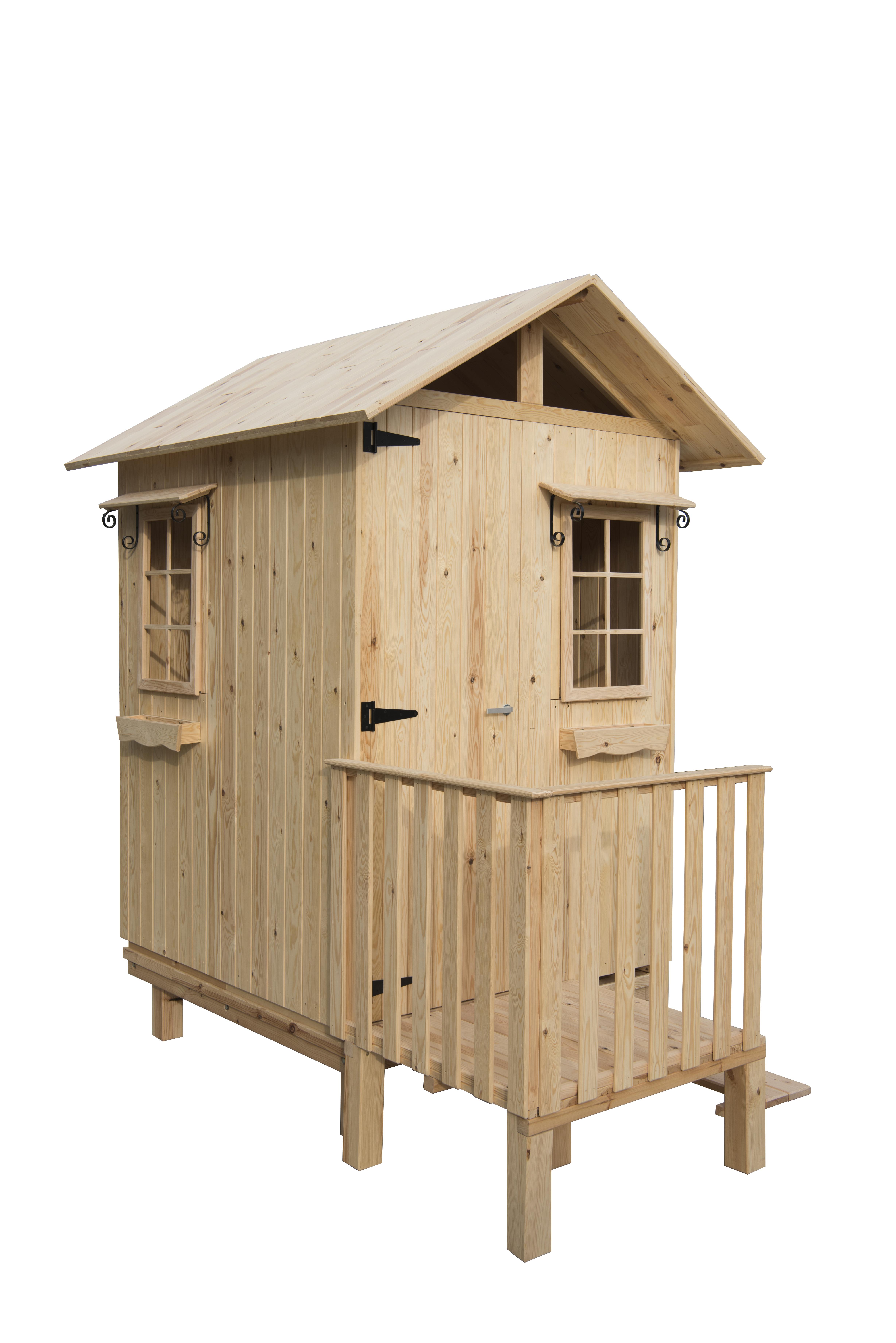 Caseta de madera vestuario mod. Beach