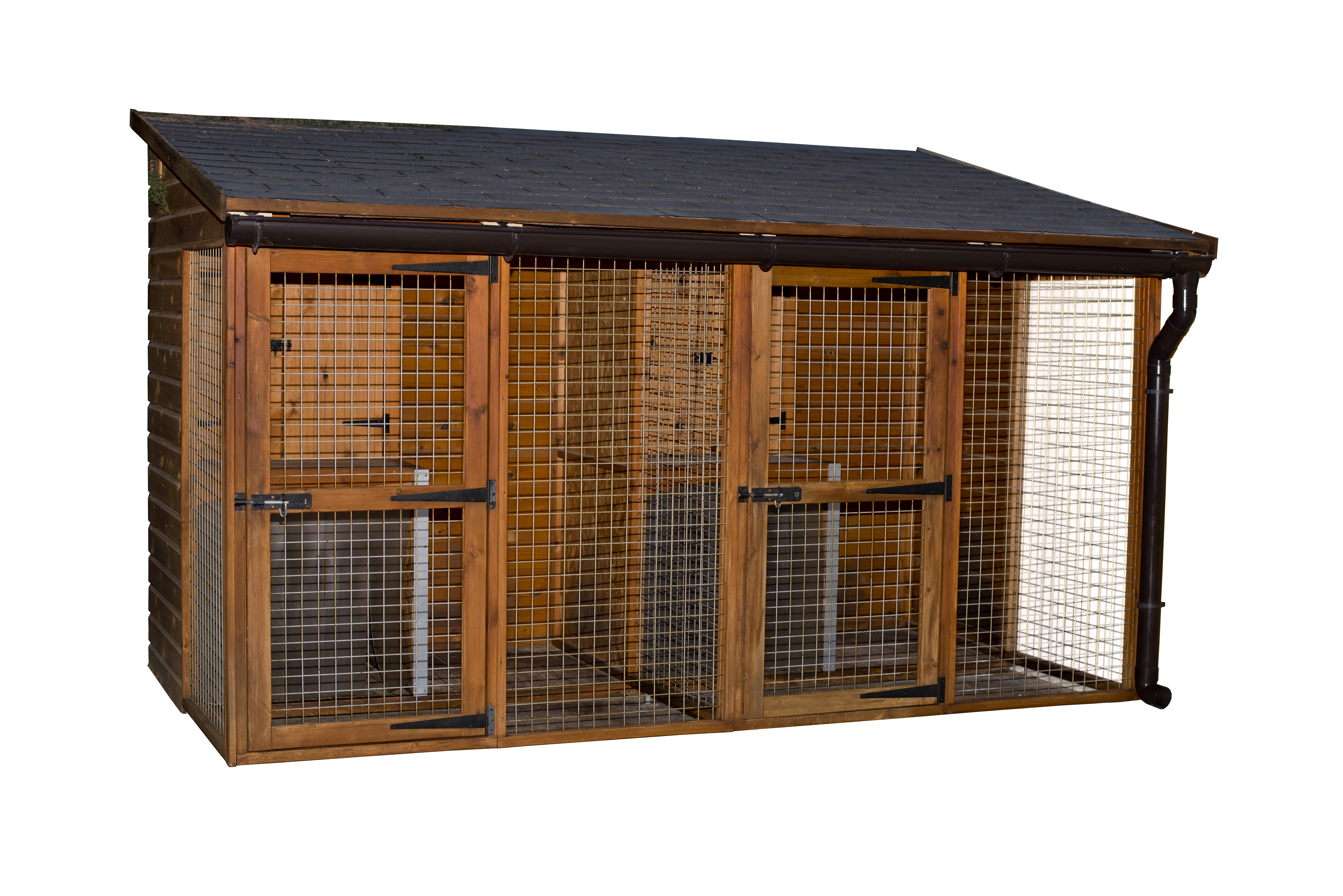 Box caseta para perros – gallinero de madera. mod.  IMMO