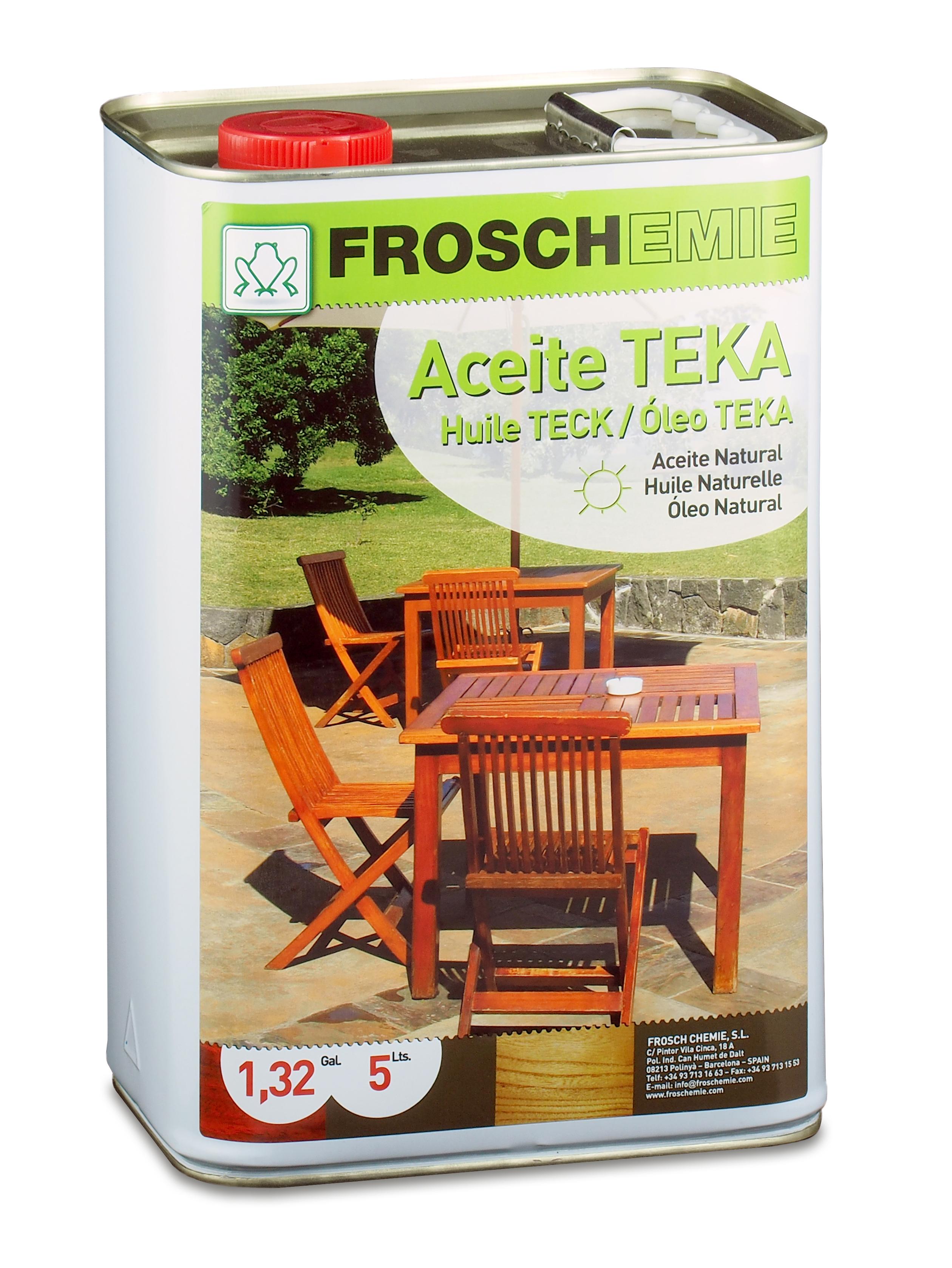 Aceite para teca incoloro  FR6318
