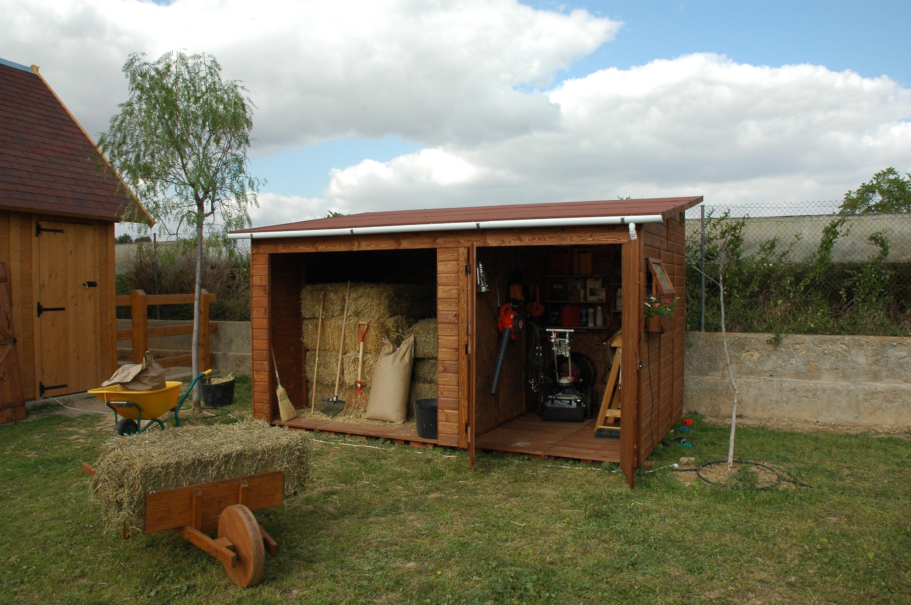 Caseta de madera Cobertizo mod. Turia